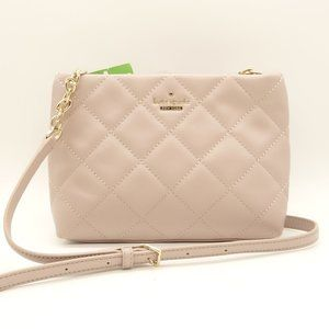 NWT KATE SPADE Sm Crossbody Bag Light Pink Leather